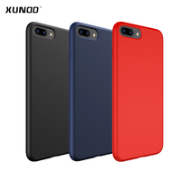 Xundd Luxury Silicon Case For Iphone 8 8 Plus Matte Protective Back Cover For Iphone 7