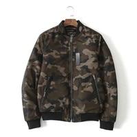 2018 New Brand Fashionable Clothing S Men Casual Windbreaker Mens Camouflage Coat Mandarin Collar Men Jacket