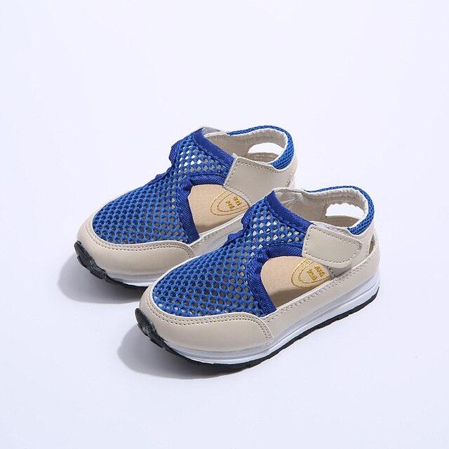 8ff787f4c936b Niños zapatos de otoño de moda de verano de malla transpirable deporte de  los bebés zapatos