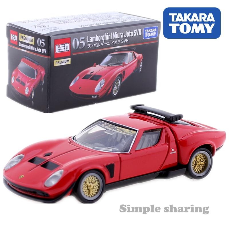 Takara Tomica Premium No 05 Lamborghini Miura Jota Svr 1 61 Red