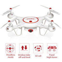 SYMA X5UC Drone 4 Channels Bring 6 axis gyro 2.0MP HD Camera RC Quadcopter 2.4G 4CH Hover Function Headless RC Helicopters
