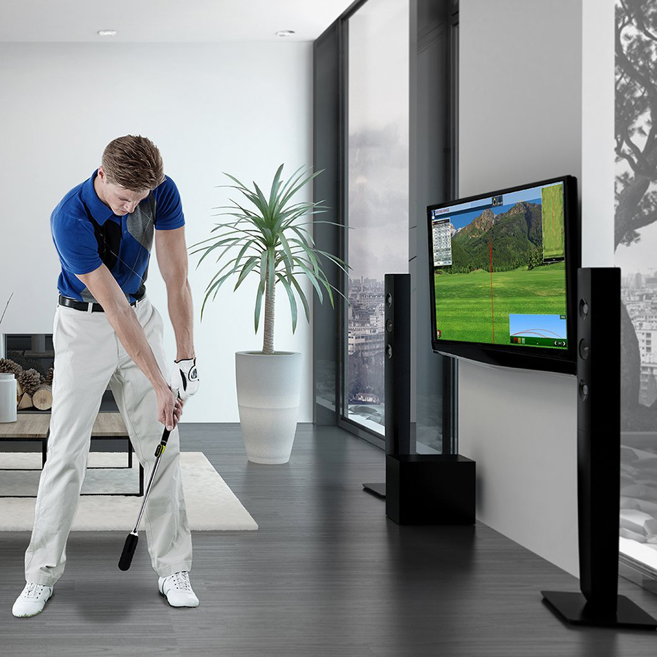 Golf Swing Training Aid Golf Swing Stick Golf Simulator