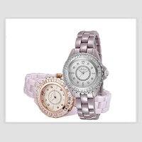 Марка Мелисса 100% Анти аллергия Керамические часы fr Для женщин Элегантные Кристаллы браслет наручные кварцевые часы Японии аналоговые Montre