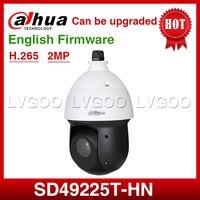 Dahua SD49225T HN 2mp ptz speed dome câmera de rede ir100m h.265 ip66 suporte poe + atualização SD29204T GN original com logotipo dahua|Câmeras de vigilância| |  -