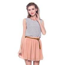 2017 Newest Summer Women Girl Chiffon Short Mini Skirt Pleated Elastic Double-layer High Waist Bouffant Full Casual Female Skirt