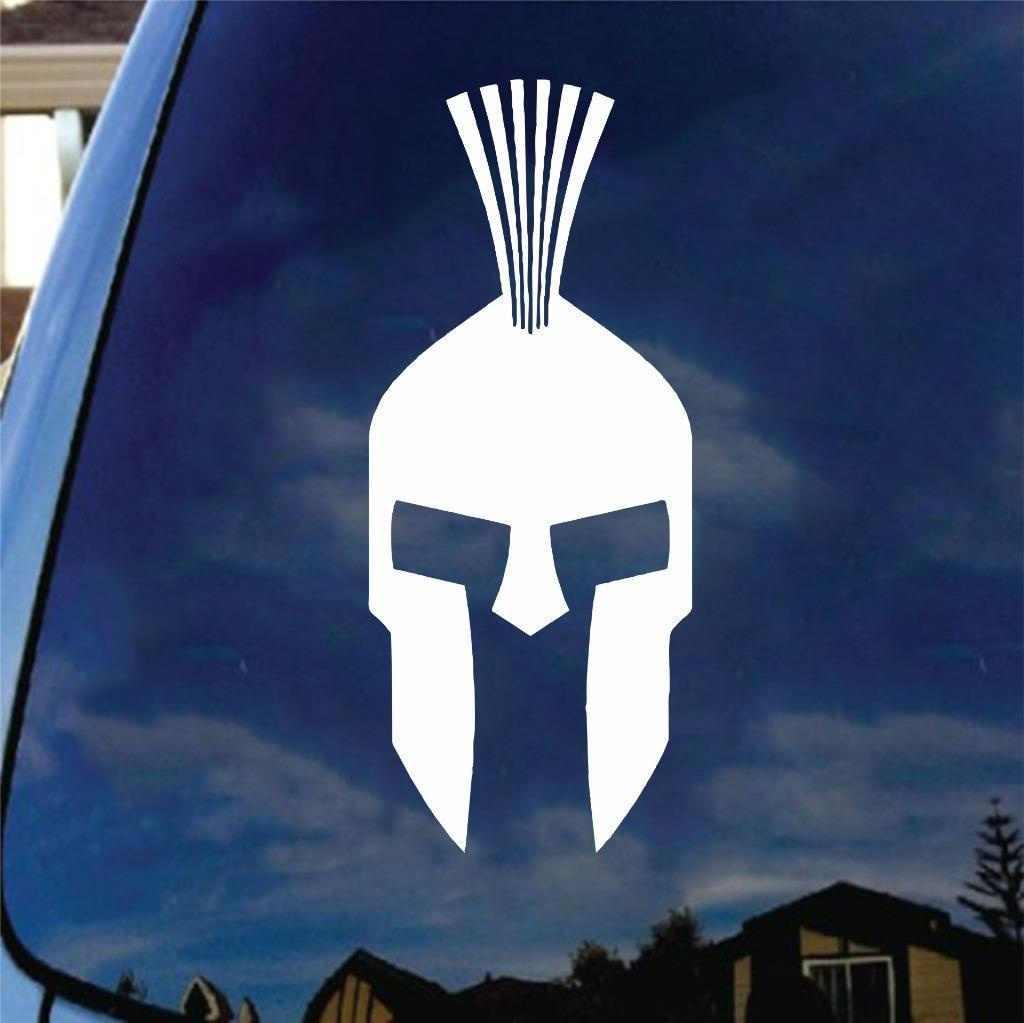 Spartan helmet vinyl decal sticker molan labe sparta college car truck laptop