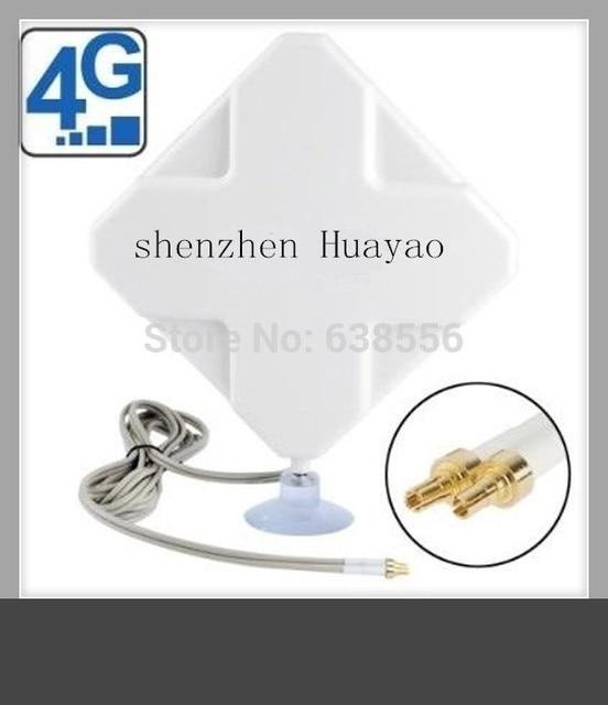 4 Г LTE FDD/TDD Антенна 35dBi двойной TS9/crc9 разъем zte модем с внешней антенной