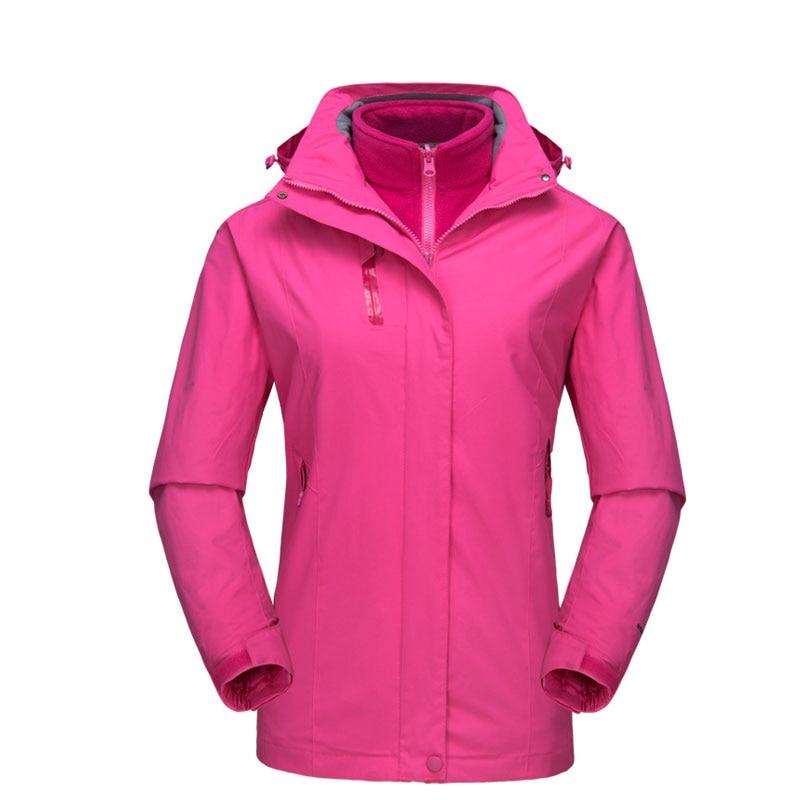 Women Windbreaker Softshell Outdoor Hiking Jacket Female Water Resistant Climbing Coat Ladies Keep Warm Trekking Jackets AA60652