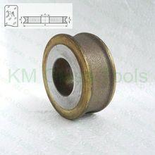 D50x22xFA3/4/5/6/8/10/12/15/19 мм периферийных Даймонд колеса с плоским краем в случае если у вас возникают какие-либо острый, для упаковки крема для рук, станок для двухсторонней обработки стекла