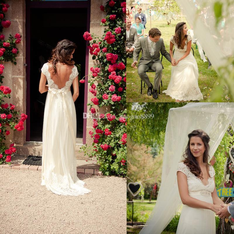 Imagenes de vestidos de novia para jardin