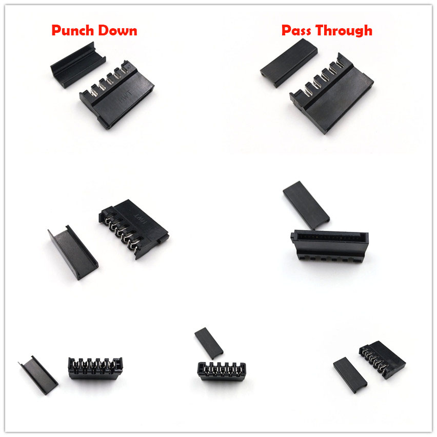 Punch Down Pass Through 1pc PC Molex IDE 4pin Power Connector Female