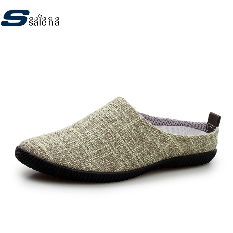 Beach Slippers Men Light Weight Mesh Breathable Male Slipper Comfortable Outdoor Shoes AA20112