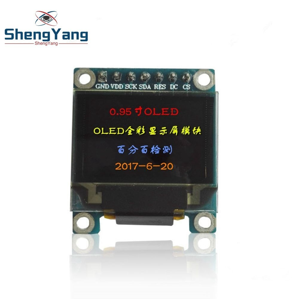 0 95 inch full color OLED Display module with 96x64