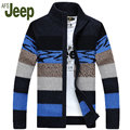 AFS JEEP 2016 autumn and winter new men promotional classic long-sleeved cardigan sweater Battlefield Jeep sweater M 80