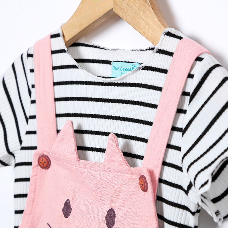 Bear-Leader-Girls-Sets-2017-New-Children-Clothing-Strap-Dress-Sets-Kids-Clothes-Pullover-Striped-ShirtDress-2Pcs-Suit-Outwears-3