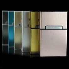 Алюминиевый Чехол для сигарет, держатель для табака, карман для хранения, аксессуары для курения, аксессуары для сигарет