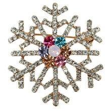 B6 Снежинка из горного хрусталя, ювелирные изделия Новинка брошь bijoux(украшения своими руками) Ювелирные булавки броши для Для женщин Платья-свитеры нагрудные АК