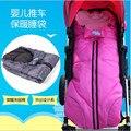 Inverno Carrinho de Bebê Saco de Dormir de Algodão Sacos de Dormir Do Bebê Sleepsacks Carrinho Cesta Infantil Fleabag Grosso Saco Swaddle