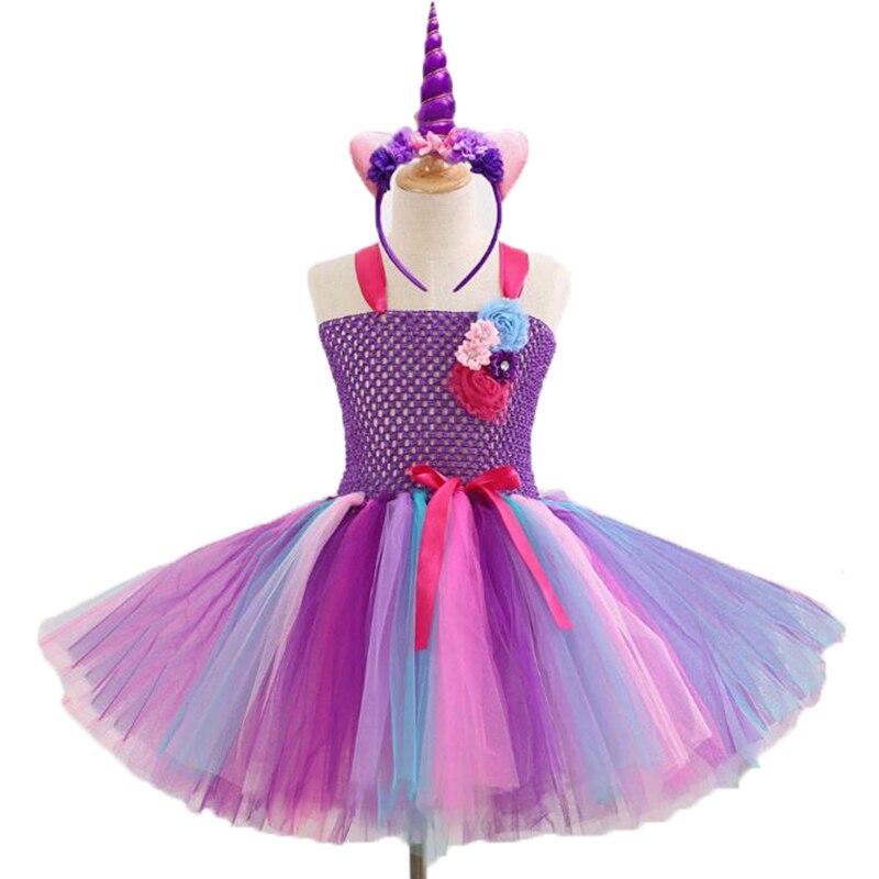 88fb915597494 US $12.22 26% OFF|My Baby Girls pony Halloween Cosplay Dress Children  little Pony Dresses Cartoon Vestidos Costume Kids Clothes Summer  Clothing-in ...