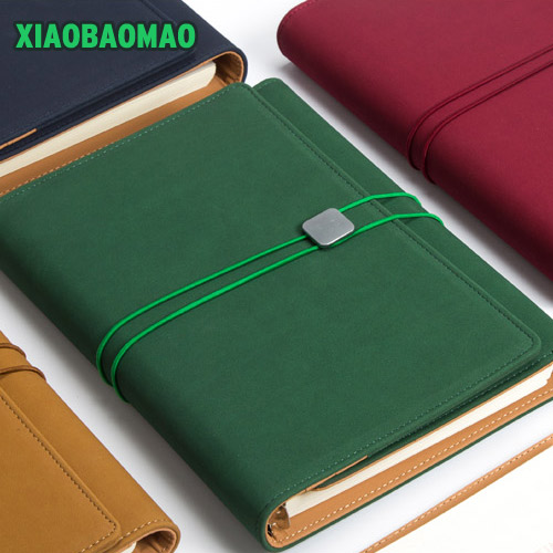A5 storage +3 fold loose-leaf spiral notebooks stationery Multi-function notebook personal agenda planner organizer cuaderno
