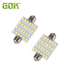 2014 Hot Sale Free Shipping 10pcs/lot Car Auto Interior 24 Led 31mm/36mm /39mm / 42mm 2835Smd 360LM Festoon Dome Lamp Bulb 12v