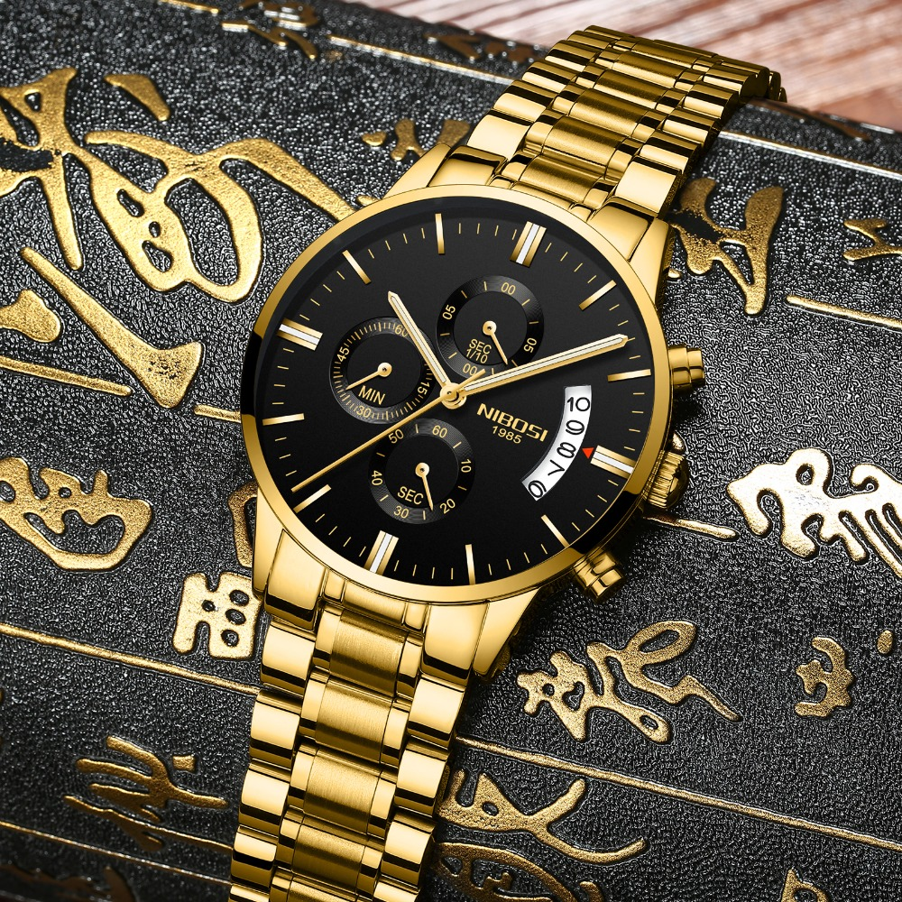 Image 2 - NIBOSI Relogio Masculino Men Watches Top Brand Luxury Famous Men's Fashion Casual Dress Watch Military Quartz Wristwatches Saat-in Quartz Watches from Watches