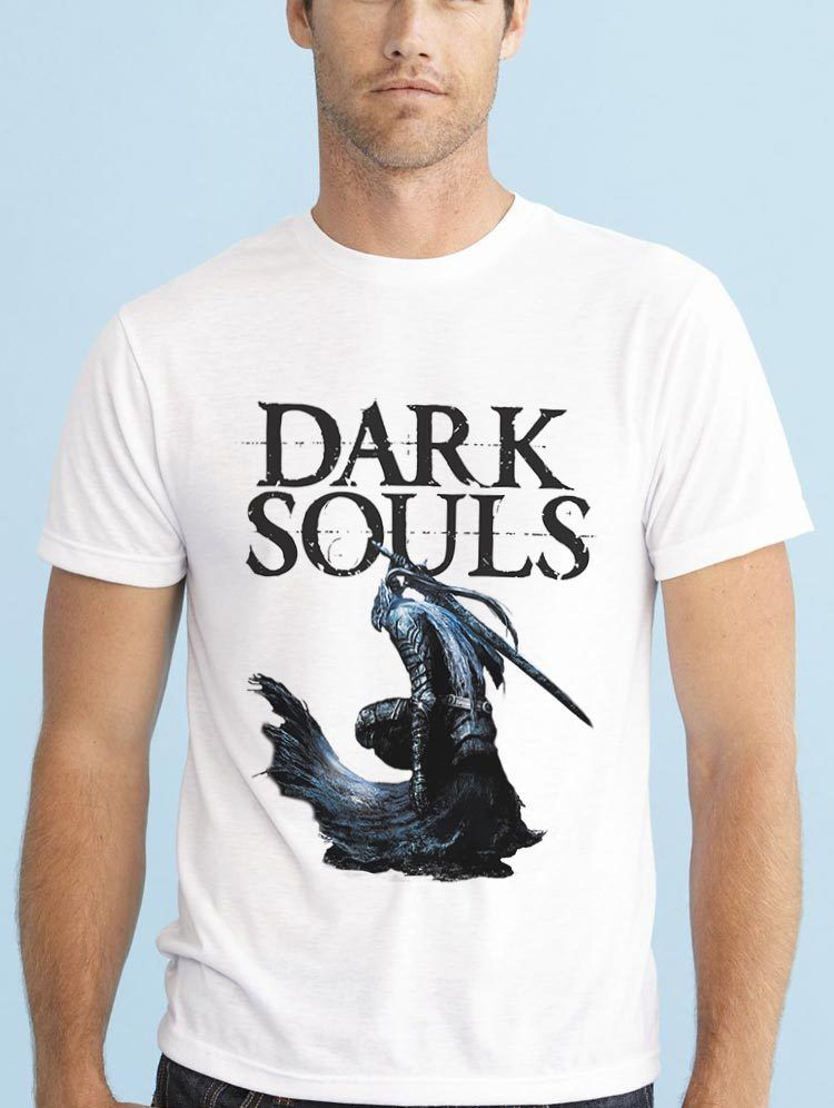 DARK SOULS ARTORIAS THE ABYSSWALKER VIDEOGAME PLAYSTATION T SHIRT Cheap wholesale tees,100% Cotton For Man,T shirt printing