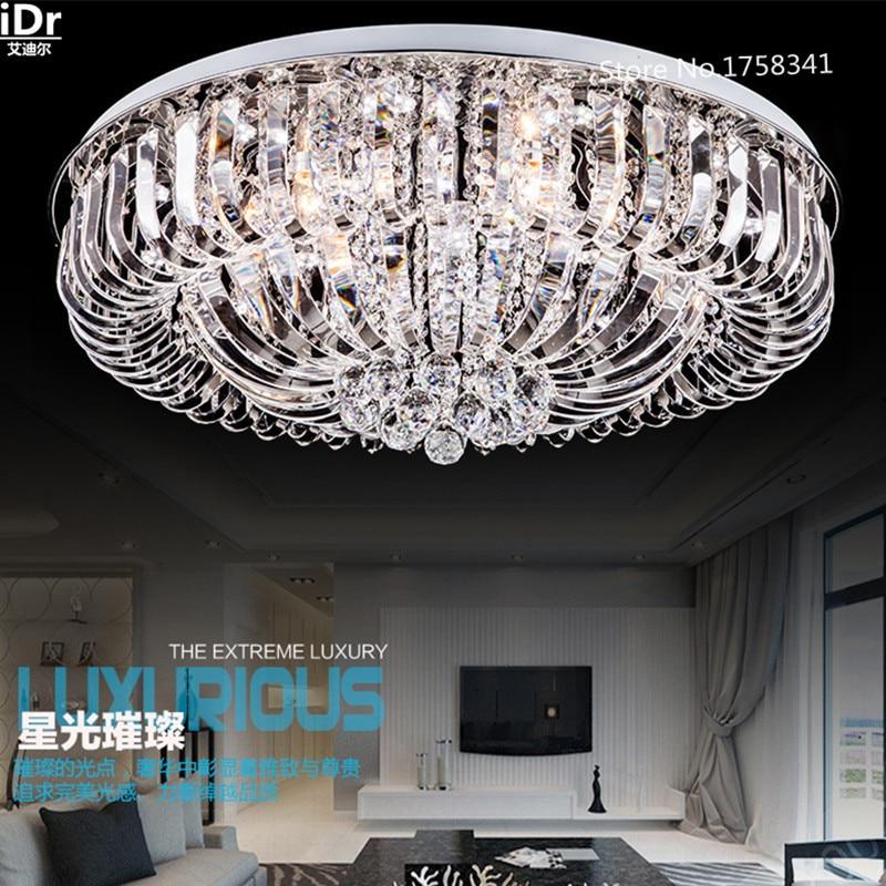 Camera da letto moderna luci di soffitto di cristallo soggiorno lampada da letto lampada Camera Da Letto illuminazione lampada Hall lampada Lusso Dia800xW280mm
