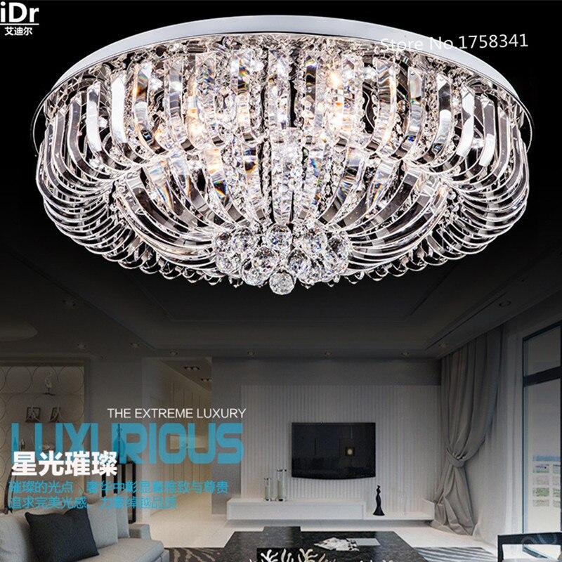 Chambre moderne led plafonniers en cristal salon lampe chambre lampe éclairage Chambre lampe Salle lampe De Luxe Dia800xW280mm