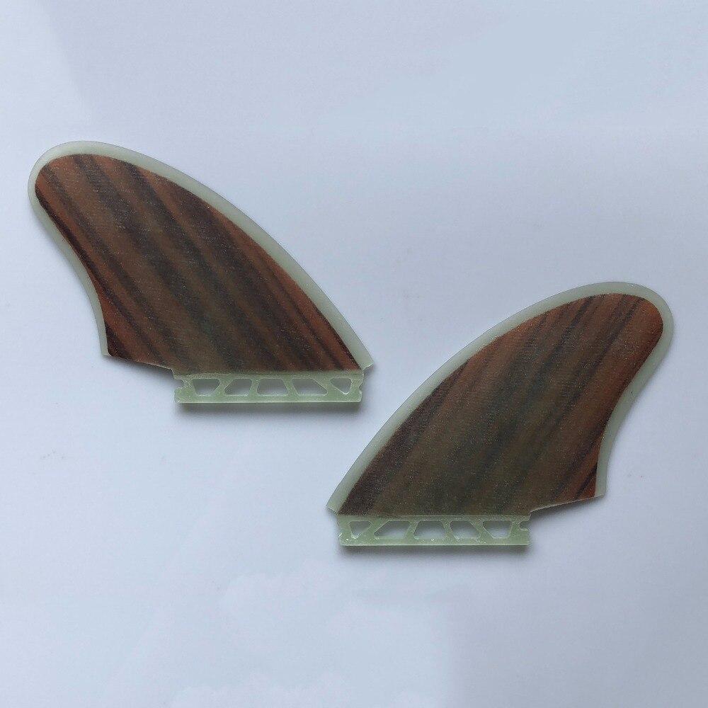 Nouvelle arrivée en fiber de verre futurs ailerons de planche de surf propulseur sup ailettes quilhas futures barbatanas surf jumeaux palmes 2 pièce pour le surf - 5