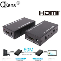 1080P HDMI Extender Splitter Extend HDMI Signal To 60m By Single Ethernet Lan RJ45 CAT6 Network Cable Cord RX TX Sender Receiver
