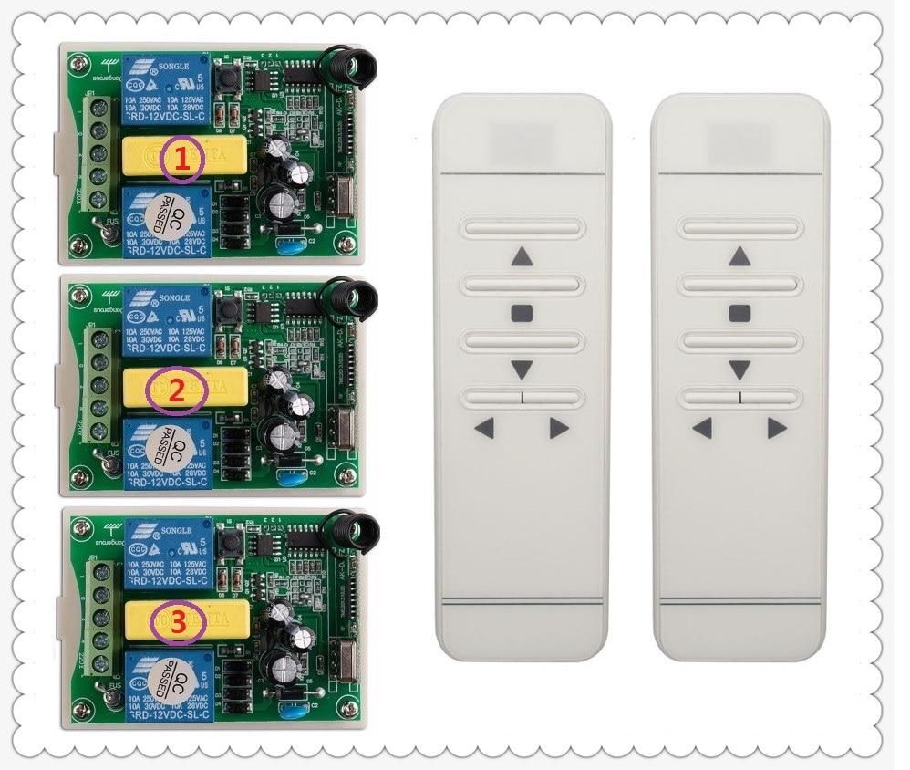 AC220V inteligentny cyfrowy przełącznik bezprzewodowego pilota zdalnego sterowania, że system działa niezależnie od ekran projekcyjny i drzwi garażu i rolety w Piloty zdalnego sterowania od Elektronika użytkowa na  Grupa 1
