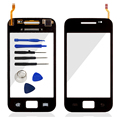 For Samsung Galaxy Ace S5830 GT-S5830 Touch Screen Digitizer Glass Panel Front Glass Lens Sensor Flex Cable Logo Free Shipping