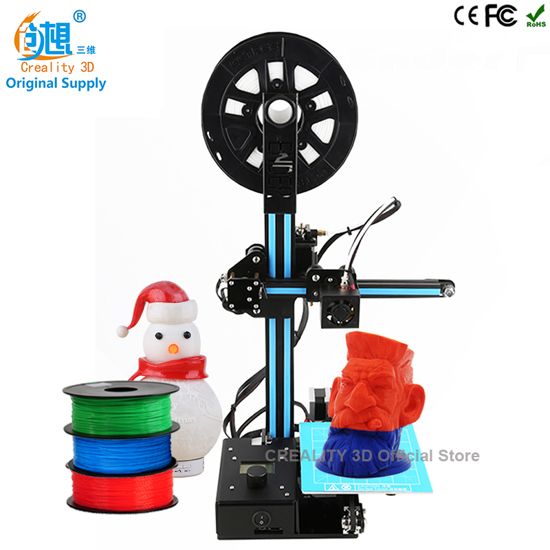 7th Anniversary Sale CREALITY 3D Cheapest Color 3D Printer Metal Ender 2 Large 3D Printing Size