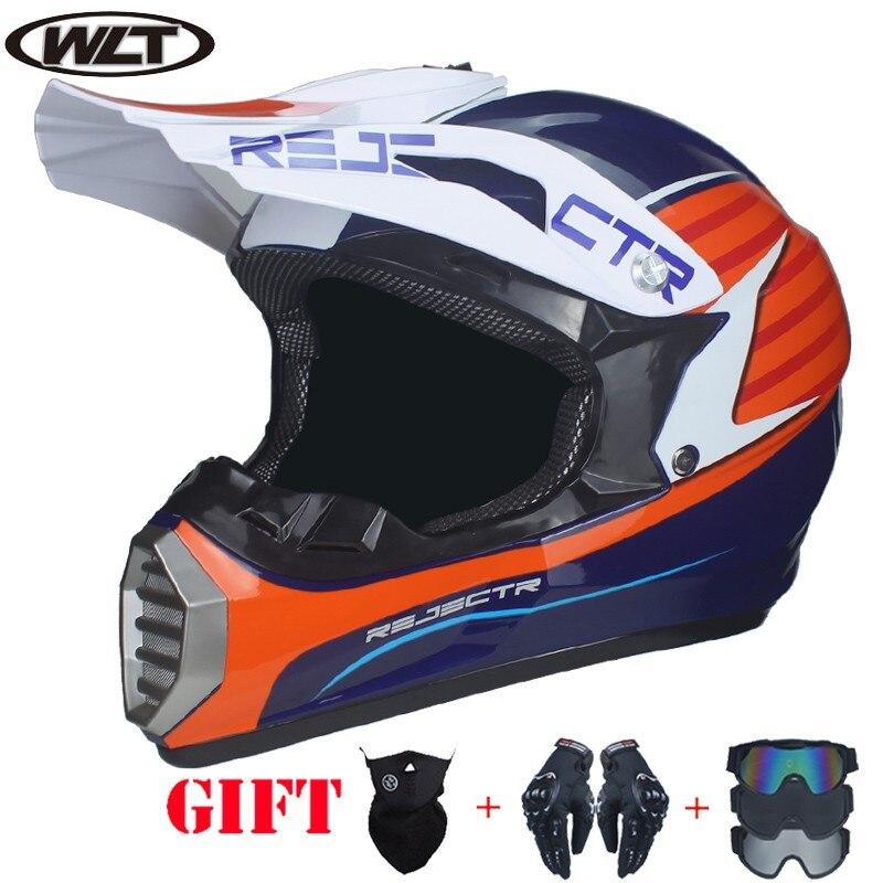 Купить получить три мотокросс шлем ATV Off Road велосипед Горные MTB DH гонки Шлем Capacete каско Motoqueiro защиты Каскад