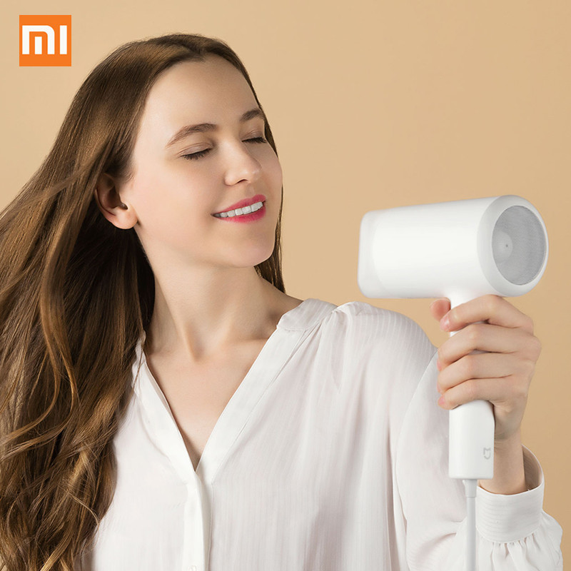 Xiaomi Hair Dryer CMJ0LX 1800W Water Ion Electric Hair Dryer Professional Quick Drying Hairdressing Hair Styling ToolsXiaomi Hair Dryer CMJ0LX 1800W Water Ion Electric Hair Dryer Professional Quick Drying Hairdressing Hair Styling Tools
