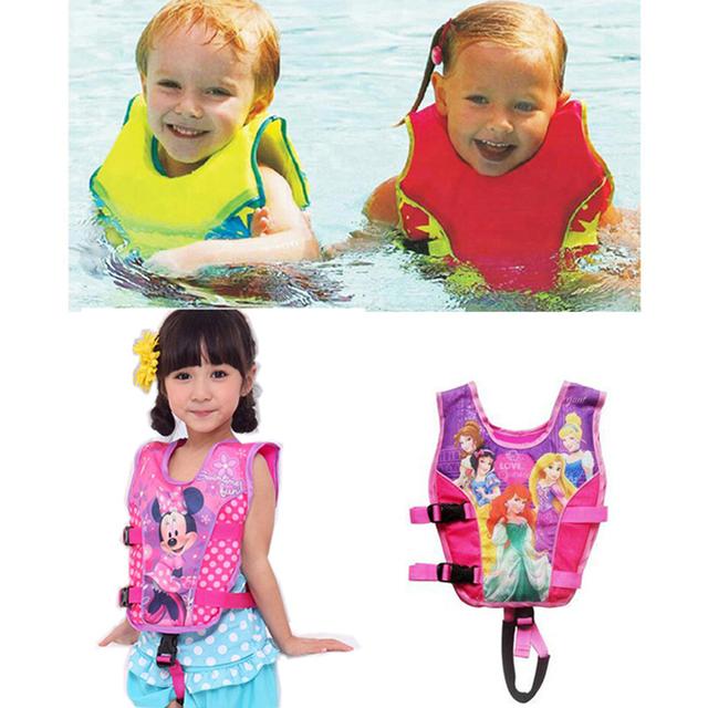 Lindo bebé de la muchacha del traje de baño traje de baño de flotación flotador del bebé juego de los muchachos chaleco salvavidas niño bebe pañal de natación bikini troncos de natación accesorios