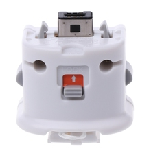 1 шт. внешний датчик адаптера движения плюс для пульта дистанционного управления nintendo wii