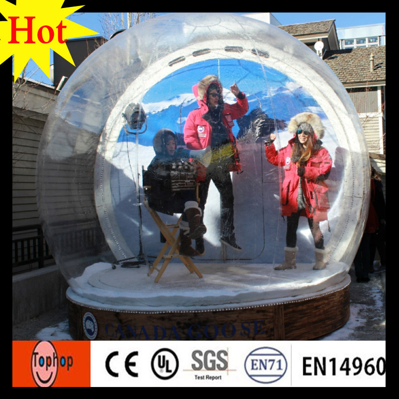 Online Shop dia 4m christmas giant inflatable snow globe imported ...