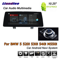 Liandlee 10.25 Android 7.1 For BMW 5 Series 520i 530i 540i M550i EVO 2017~2019 Stereo Car Radio GPS Map Navi Navigation System