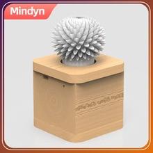 Mindyn בעבודת יד פרח צל אינפרא אדום שלט רחוק LED מהבהב פרח לסובב מהירות התאמת קישוט מתנות