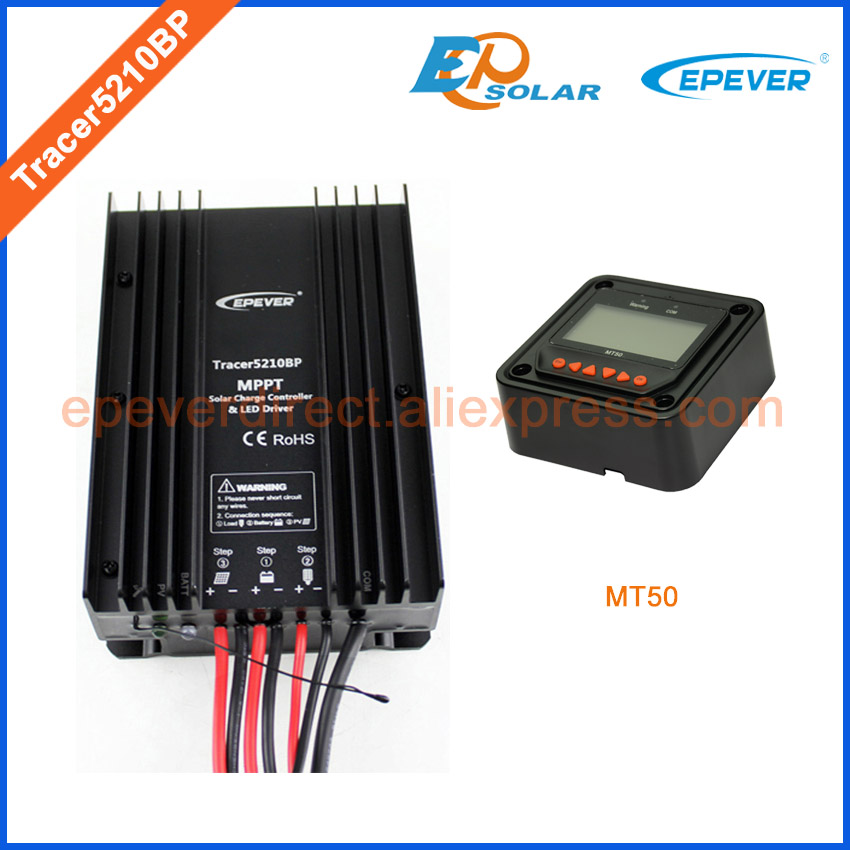 20A 24V Controller for solar panels system MPPT regulator Tracer5210BP MT50 remote meter 20amps Free Shipping EPEVER