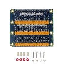 Raspberry Pi 3 Model B GPIO Extension Board 1 to 3 40 Pin GPIO Module for Orange Pi PC Raspberry Pi 2 Raspberry Pi Zero W(China)