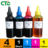 4 Colors 100ml Bottle Universal Pigment Ink For 177 178 364 564 655 670 685 711