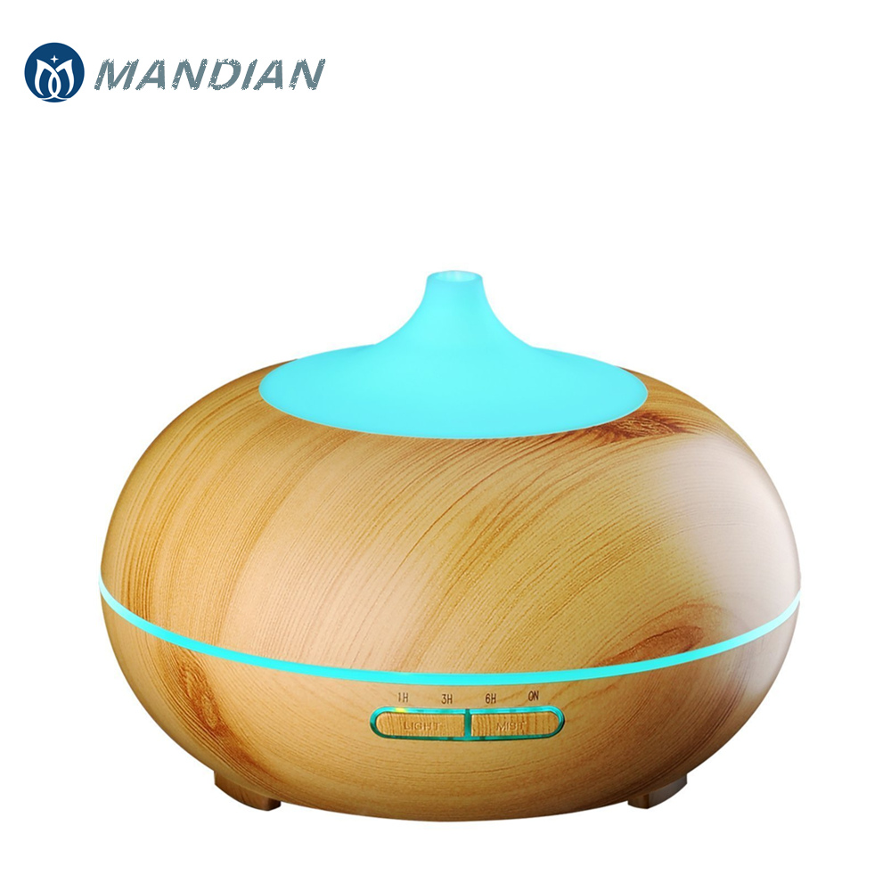 Wood Grain 300ml Ultrasonic Aroma Diffuser Essential Oils Cool Mist Air Aromatherapy Humidifier with 10 Hours Continuous MistWood Grain 300ml Ultrasonic Aroma Diffuser Essential Oils Cool Mist Air Aromatherapy Humidifier with 10 Hours Continuous Mist