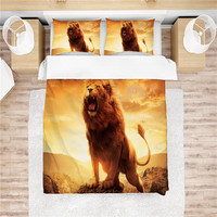 3D print Bedding set Lion friends'kids' presents/gifts Duvet cover set Home Textiles king/queen/twin/full