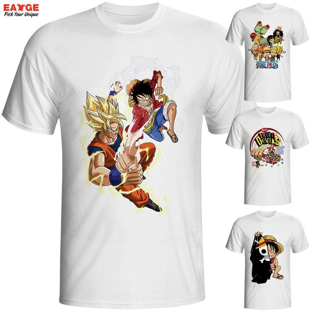 One Piece Zoro And Nami White T shirt