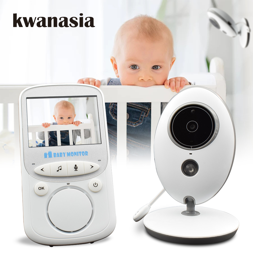 2.4 inch Wireless Baby Monitor VB605 Audio Video Baba Electronic Portable Intercom Baby Camera Nanny Walkie Talkie Babysitter