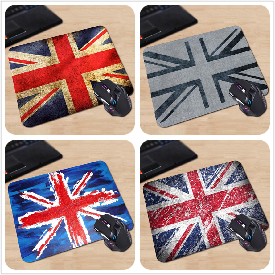 Babaite Pattern Soft Non-Skid Rectangle British Flag Vintage Stylish Gaming Gamer Comfor ...