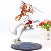 Anime Sword Art Online Figure SAO Asuna Figure Action Knights of the Blood Ver. 1/8 Scale PVC Collection Model Toys
